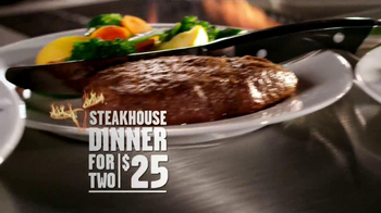 Longhorn Steakhouse TV Spot '2 Dinners Under $25'