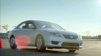 Honda Accord 2013 Super Bowl TV Spot, 'Competitive Test Drive'