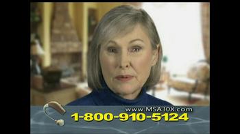 MSA 30X TV Spot - Thumbnail 7
