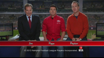 Papa John's TV Spot, 'Heads or Tails' Featuring Peyton Manning - Thumbnail 1
