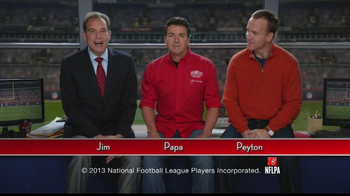 Papa John's TV Spot, 'Heads or Tails' Featuring Peyton Manning - Thumbnail 2