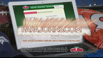 Papa John's TV Spot, 'Heads or Tails' Featuring Peyton Manning - Thumbnail 5