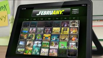 Subway FebruANY 2013 TV Spot, 'Planets'