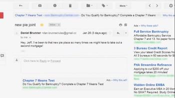 Microsoft Outlook TV Spot, 'Pie: Don't Get Scroogled' - Thumbnail 7