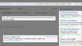 Microsoft Outlook TV Spot, 'Pie: Don't Get Scroogled' - Thumbnail 8