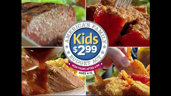 Golden Corral American Family Budget Act TV Spot