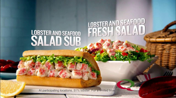 Quiznos Lobster Salad Sub TV Spot