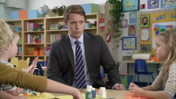 AT&T 2013 Super Bowl TV Spot, '2 Things at Once' Featuring Beck Bennett - Thumbnail 4