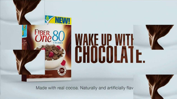 Fiber One Chocolate Cereal TV Spot, 'Wake Up With Chocolate' - Thumbnail 9