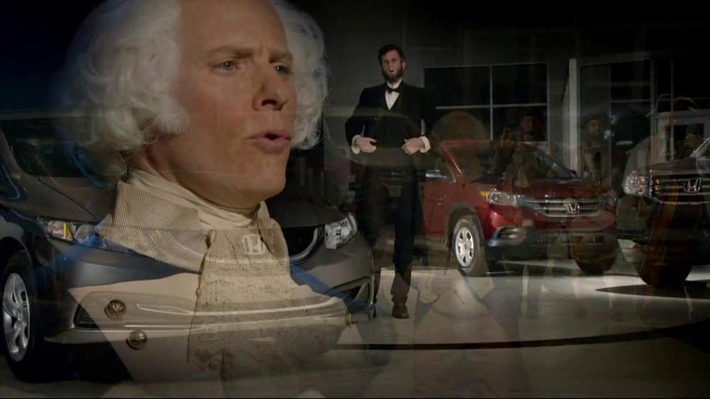 Honda Presidents Day Sales Event TV Commercial, 'R&B Presidents' - iSpot.tv