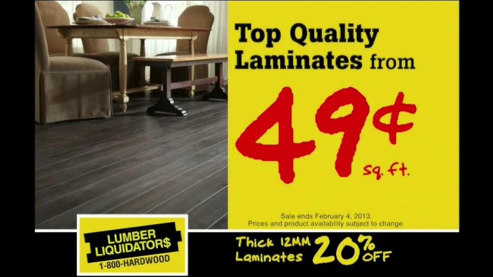 Flooring Sale Flyer : Lumber liquidators hardwood flooring sale tv commercial