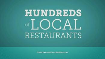 Seamless.com TV Spot, 'Food is Here' - Thumbnail 6