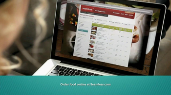 Seamless.com TV Spot, 'Food is Here'