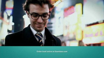Seamless.com TV Spot, 'Food is Here' - Thumbnail 8