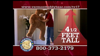 Vermont Teddy Bear TV Spot, 'Valentine's Day' - Thumbnail 2