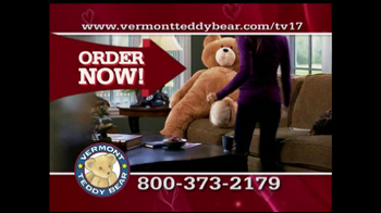 Vermont Teddy Bear TV Spot, 'Valentine's Day' - Thumbnail 5