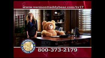 Vermont Teddy Bear TV Spot, 'Valentine's Day' - Thumbnail 6