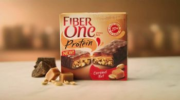 Fiber One Caramel Nut Protein Bar TV Spot, 'Not a Candy Bar'