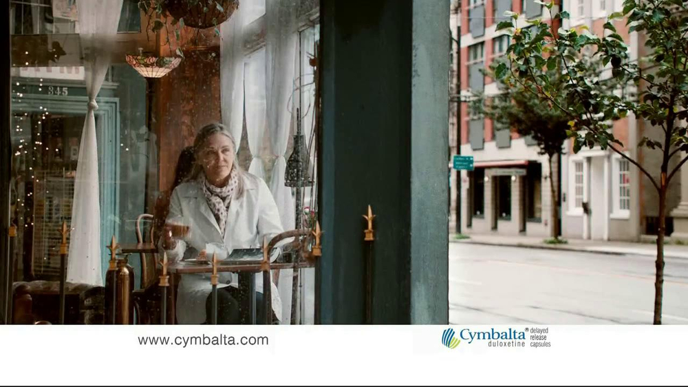 Cymbalta Tv Commercial Imagine The Day With Less Pain