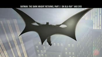 Batman: The Dark Knight Returns Part 2 Blu-ray TV Spot