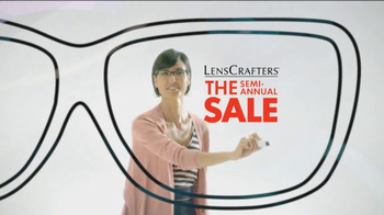 LensCrafters Semi-Annual Sale TV Spot