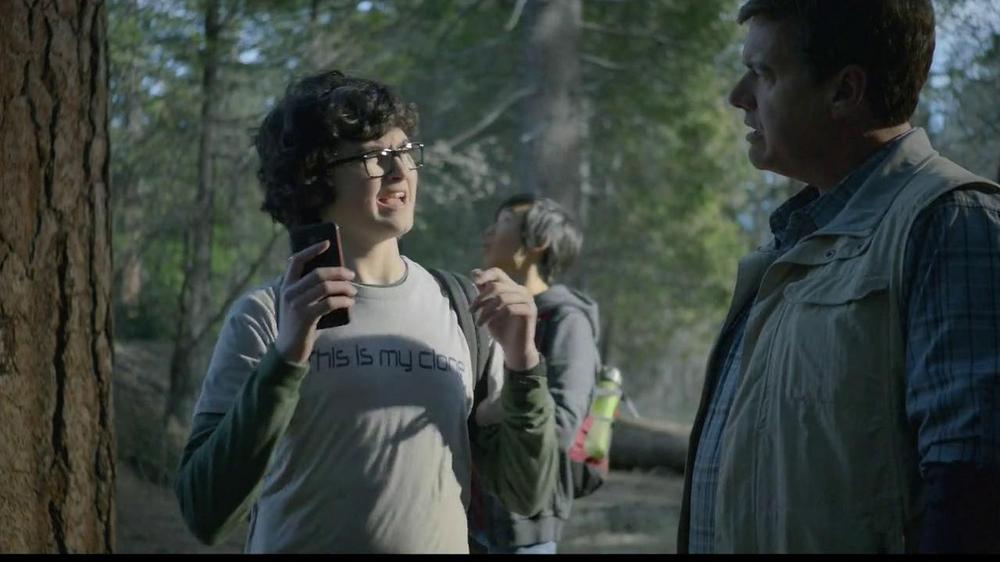 verizon 4g lte tv commercial woods ispottv