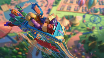 Fruitsnackia TV Spot, 'Roller Coaster'