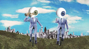 Warby Parker TV Spot, 'Eyesballs on Bikes'