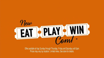 Dave and Buster's Eat, Play, Win Combo TV Spot - Thumbnail 3