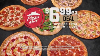Pizza Hut $6.99 Deal TV Spot, 'Go Wild'