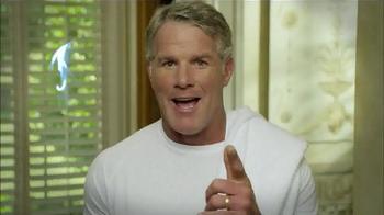 MicroTouch Tough Blade TV Spot, 'A Breakthrough in Shaving' Ft. Brett Favre