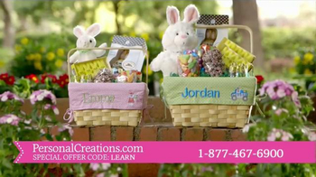 Personal Creations All-in-One Easter Basket TV Spot, 'This Easter' - 621 commercial airings