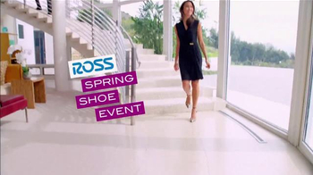 Ross Spring Shoe Event TV Spot, 'Huge Savings on Great Styles'