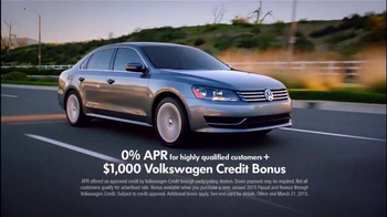 2015 Volkswagen Passat TV Spot, 'StopDreaming, StartDriving Event:Pinch Me' - Thumbnail 3