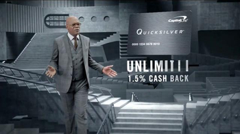 Capital One Quicksilver TV Spot, 'Shifting Stairs' Feat. Samuel L. Jackson - Thumbnail 5
