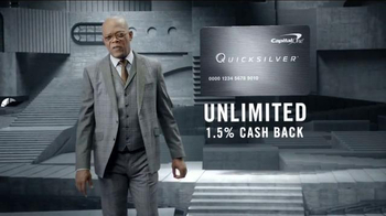 Capital One Quicksilver TV Spot, 'Shifting Stairs' Feat. Samuel L. Jackson - Thumbnail 6
