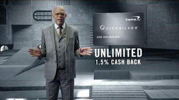 Capital One Quicksilver TV Spot, 'Shifting Stairs' Feat. Samuel L. Jackson - Thumbnail 7