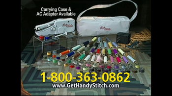 Handy Stitch TV Spot Featuring Marybeth Hoyt - Thumbnail 10