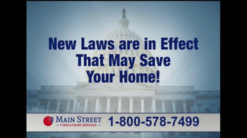 Main Street Foreclosure Services TV Spot, 'Good News' - Thumbnail 8