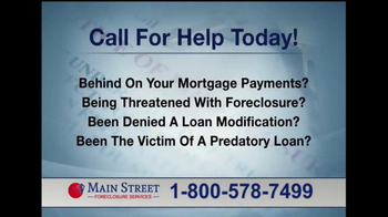 Main Street Foreclosure Services TV Spot, 'Good News' - Thumbnail 5