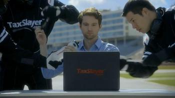 TaxSlayer.com TV Spot, 'Fast' Featuring Dale Earnhardt, Jr.