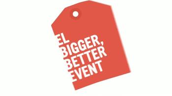 El Bigger, Better Event de Radio Shack TV Spot [Spanish]