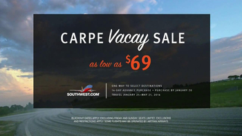 Southwest Airlines TV Spot, 'Carpe Vacay' - Thumbnail 9