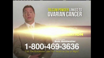 Goldwater Law Firm TV Spot, 'Ovarian Cancer' - Thumbnail 5
