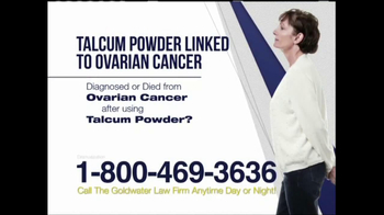 Goldwater Law Firm TV Spot, 'Ovarian Cancer' - Thumbnail 7