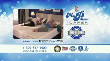 My Pillow Topper TV Spot 'Hot and Cold' - Thumbnail 9
