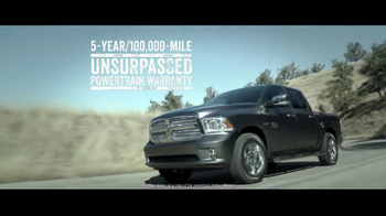 2014 Ram 1500 TV Spot, 'Truck of the Year' - Thumbnail 8