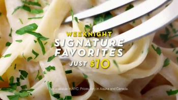 Olive Garden Weeknight Signature Favorites TV Spot, Song by Tim Myers