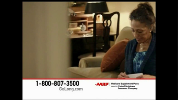 AARP Healthcare Options TV Spot, 'Go Long' - Thumbnail 10