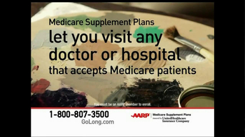 AARP Healthcare Options TV Spot, 'Go Long' - Thumbnail 6